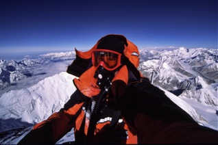 David On the Summit of Mt. Everest